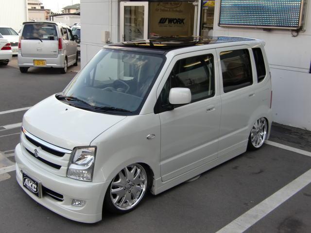 株式会社AKC_ワゴンRカスタム_盛岡北上車買取・ドレスアップ・カスタム