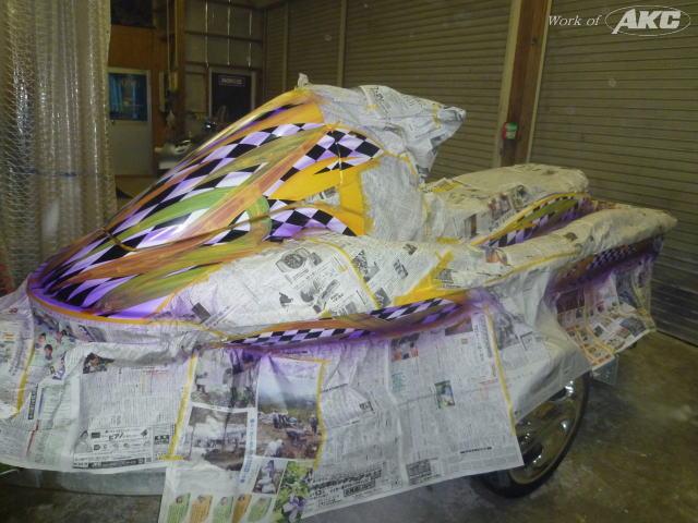 株式会社AKC_ ジェットスキーカスタムペイント_盛岡北上車買取販売・ドレスアップ・カスタム
